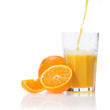 Постер, плакат: Fresh orange juice