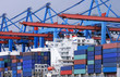Containerschiff am Containerterminal 3