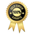 Siegel - 100% Geld zurück Garantie