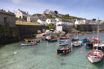 Cornwall England Coverack fishing village
