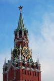 Moscow Kremlin, Spasskaya Tower.