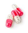 three red capsules