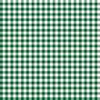 Karo Tischdecken Muster DUNKELGRÜN - endlos