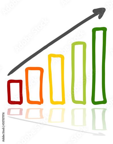 Diagramm Farbe