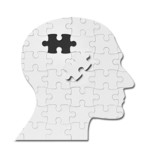 puzzle game solution head silhouette mind brain