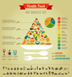 Health Food Pyramid Infographi...