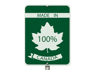 100 Percent Made in Canada