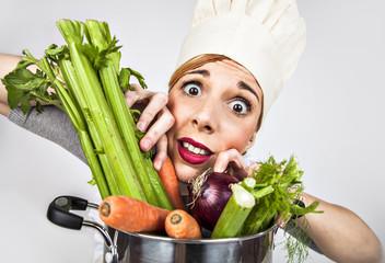 Cuoca stressata