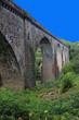 Viaduc de chemin de fer à Vignols (Corrèze)