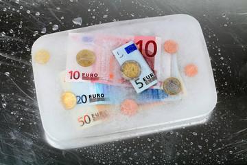 Geld einfrieren