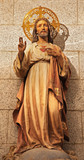 Madri - Heart of Jesus statue from church of hl. Theresia