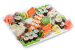 Japan Roll on a plate