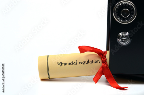 Financial regulation and steel safe
