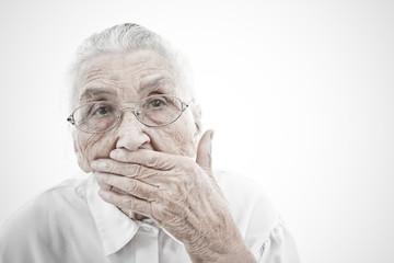grandma is mute