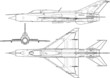 High detailed vector illustration of a military airplane