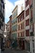 Постер, плакат: Rue de bayonne Pays basque fran