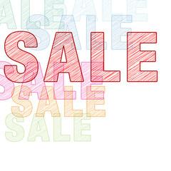 Sale BUNT Ecke Scribble Hell