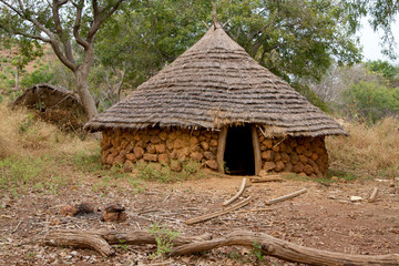 Senegal Ethiolo Hut