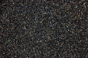 Detailed Wet Asphalt Texture, Dark Tarmac Copy Space
