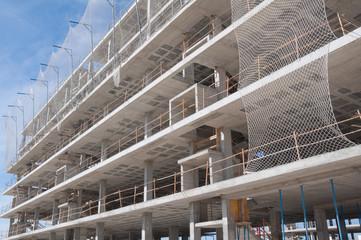 Edificio en construcción, España