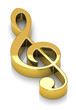 Der goldene Notenschlüssel