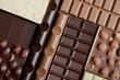 Verschiedene Tafeln Schokolade