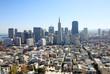 Financial district in San Francisco, Usa