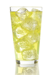Green Energy Drink Soda
