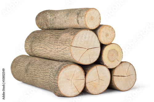 Heap of several logs