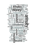 Taking A New Look At Annuities poster