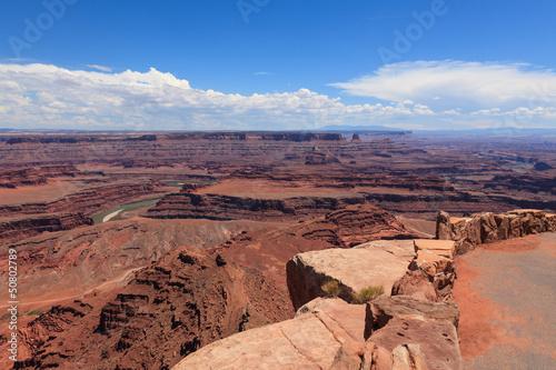 Dead horse view in Utah