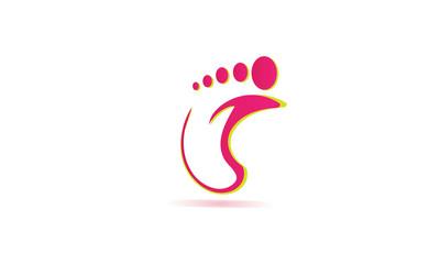 Concept pied rose