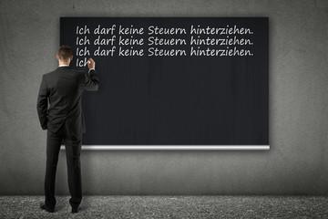 wall of shame - Manager Verhalten Steuerhinterziehung