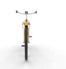 Yellow Bike Front