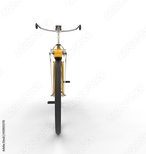 Yellow Bike Front