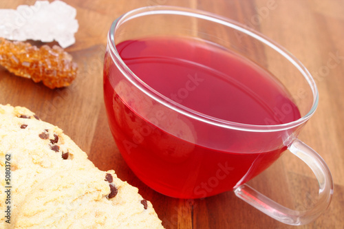 tea and shortbread - Tee und Shortbread