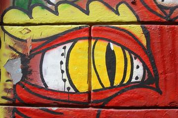 graffiti on Rome's wall
