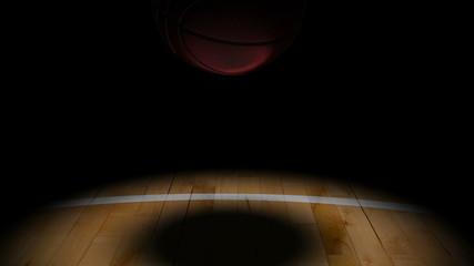 Jumping Slow Motion Chinese Basketball