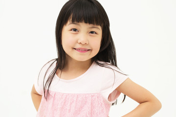 Beautiful little asian girl