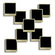 Ppolaroid style photo frames