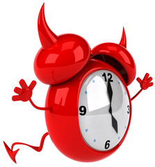 Evil alarm clock