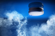 Leinwanddruck Bild - Smoke detector