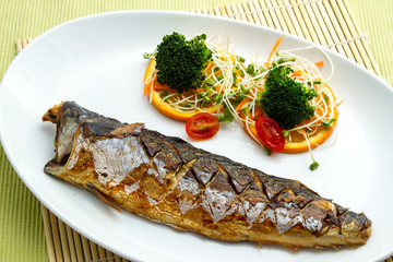 Saba Fish Steak