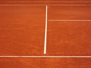 Tennis Platz Linien 79