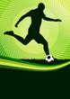 Flyer Fußball