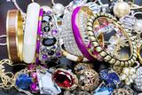 Fototapety Fashionable women's jewelry