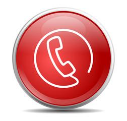 Icon rund Telefon