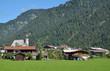 Urlaubsort Waidring vor der Steinplatte in Tirol