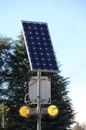 solar powered street