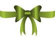 bandschleife, grün, glänzen, geschenkartikel, schleife, vektor